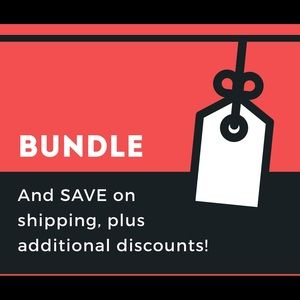 Bundle items to receive additional discounts.